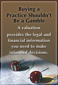 Valuations give you facts needed to make informed decisions.